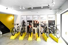 Vanmoof flagship store / research center by Ontology Studio, Taipei – Taiwan » Retail Design Blog