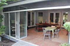 Panorama is Stoett's largest retractable outdoor, living screen