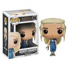 Game of Thrones figurine Pop! Daenerys en robe bleu: HBO Shop Europe