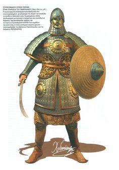 Тюркский всадник-таркан на службе у Тамерлана, XIV-XV века.