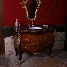 Country Bathroom Vanities Country Bathroom Vanities, Design Palette, Vanity Design, Concrete Building, House On The Rock, Blues Rock, Bathroom Inspiration, Faucet, Tiles