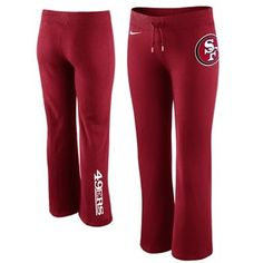 Nike San Francisco 49ers Women's Tailgater Fleece Pants - Scarlet