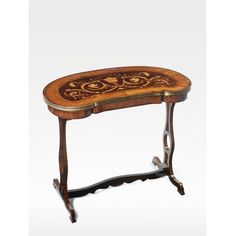A Russian Neoclassical ormolu-mounted inlaid, amaranth, kingwood, satinwood palissander and tulipwood marquetry kidney-shaped writing table late 18th century | http://www.sothebys.com/en/auctions/ecatalogue/2008/fine-french-continental-furniture-including-european-works-of-art-and-tapestries-ceramics-and-carpets-n08426/lot.194.html