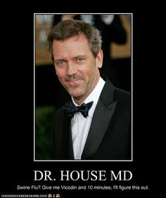 Hugh Laurie can speak English with an American accent better than most Americans… Dr House Funny, House Jokes, Grace Kelly, Mejores Series Tv, Gregory House, Hugh Laurie, Famous Faces, Just For Laughs, Best Tv