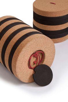 Seemingly Upcycled Stools : Bucket Stool by Pedersen and Lennard