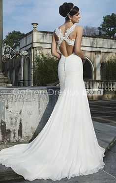 wedding dress wedding dresses (top/back)