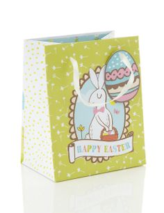 Multi medium easter gift bag packaging pinterest small easter gift bag ms negle Image collections