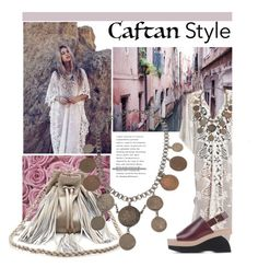 """Caftan Style"" by leatherlena ❤ liked on Polyvore"