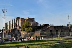 Remains of Temple of Venus and Roma, Rome. Roman Architecture, Ancient Romans, Roman Empire, Venus, Rome, New York Skyline, Temple, History, Travel