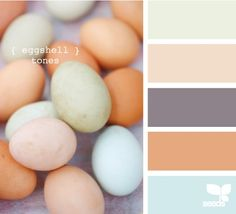 Eggshell Tones #easter #spring #decorate