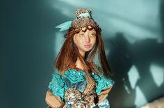 OOAK Custom fantasy art doll. IADR