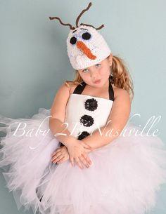 Olaf Snowman Costume  Toddler 24T Basic Winter by Baby2BNashville, $85.00