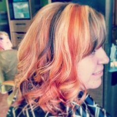 Orange hair!