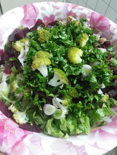 Beet and vegetables salad