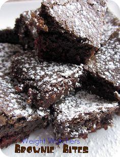 Weight Watchers Brownie Bites Recipe | Six Sisters' Stuff