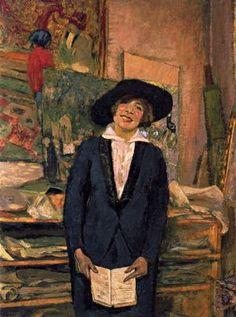 Lucie Belin Souriant (Lucie Belin Smiling), 1915, Edouard Vuillard