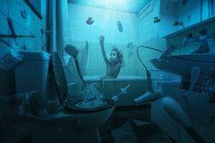"Just Lou having her weekly bath - If you like my photos, follow me on facebook: <a href=""http://www.facebook.com/johnwilhelmisaphotoholic"">[click]</a>"