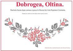 Modele de cusaturi traditionale din Dobrogea | Simona Moon Folk Embroidery, Projects To Try, Cross Stitch, Traditional, Blog, Handmade, Romania, Crosses, Knots