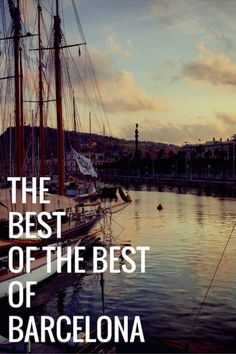 The best of the best things to do in Barcelona! Everything from food, drink, where to get a great view and more in the Catalan capital! Barcelona Food, Barcelona Travel, Barcelona Spain, Spain Travel, Us Travel, Places In Europe, Places To Go, Things To Do, Good Things