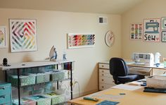 sewing room inspiration and ideas