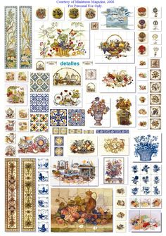 Various tile patterns for floors, tiled surfaces (e.g. trays) | Source: CDMH…