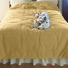 Dog Hair Resistant Duvet Cover