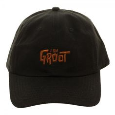 d062f4fb767 Guardians of the Galaxy I Am Groot Embroidered Dad Hat