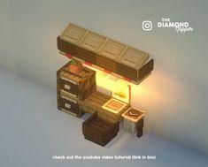Minecraft – The Diamond Hopper on I Minecraft Videos, Minecraft Farmen, Minecraft Villa, Minecraft Kitchen Ideas, Minecraft Welten, Amazing Minecraft, Minecraft Tutorial, Minecraft Bedroom, Minecraft Blueprints