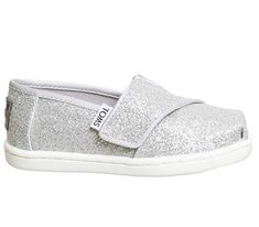 401d2d876ba0 Toms Tiny Classics Silver Glitter New - Unisex. Ema Ross · Casual Shoes
