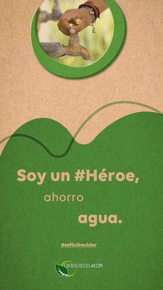 En este sábado de Gloria ahorra agua. #EsFácilReciclar #UnaAccionUnMundo #PequeñasAcciones #DefiendeAlMundo #MiMundo #OneEarth #3R #Recicla #Reusa #Reduce #Reciclaje #SomosHeroes #Tierra