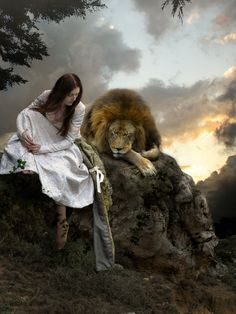 future days..Isaiah 11:6-9 ... Photo or Hyper-realism? Can't tell, but it looks like beautiful artwork to me.