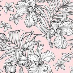 big blooms (@patternbank)