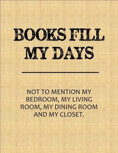 This used to be true in Idaho. I miss my books!!