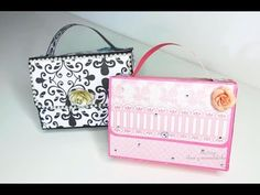 Bolsa con doble cartera adentro /Bolsa de papel muy hermosa - YouTube