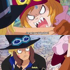 Lol Sabo makes funny faces -Luffy Senpai