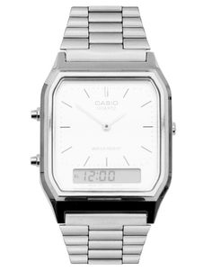 Casio Retro Style Dial & Digital Metal Bracelet Watch $58.27