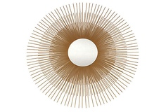 Sunburst Mirror, Gold on OneKingsLane.com