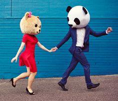 teddy bear engagement