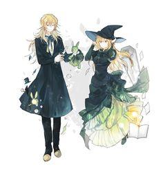 Vincent & Ada. nice costumes- ^^-