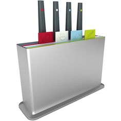 The Joseph® Index Plus Cutting Board and Knife Set from @JCPenney is both sleek and stylish. #PfisterModernKitchen