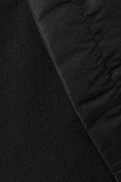 Nike - Tech Fleece Cropped Shell-trimmed Cotton-blend Track Pants - Black - medium