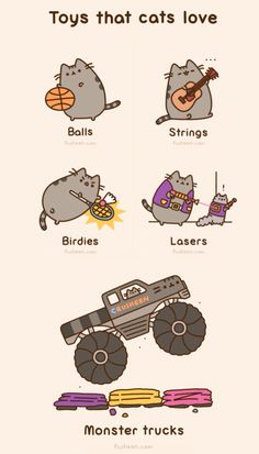 So cute!! Pusheen Cat is awesome!