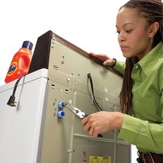A washing machine that takes forever to fill may have an inlet screen clogged with mineral deposits and tiny particles of debris. The fix is simple.