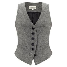 Somerset by Alice Temperley Donegal Tweed Waistcoat, Grey Vest Outfits, Casual Outfits, Fashion Outfits, Indian Men Fashion, African Fashion, Dapper Suits, Tweed Waistcoat, Grey Vest, Discount Clothing