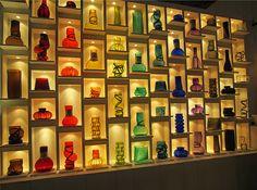 il vetro che diventa arte...#Vanessa Mitriani #arredo #casa #www.valterpisati.it