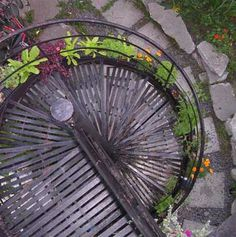 Recipe to make a stairway garden | Rooftop gardens project