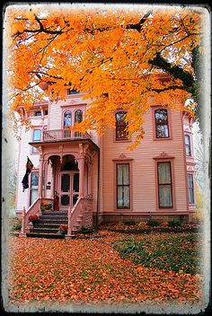 The House at the End of Autumn Street (upstate NY)