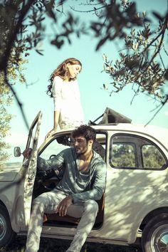 NILE Spring 2017 - Primavera - Romantic Vintage Couple #photo #art #model #inspiration