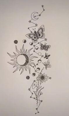 Cute Tiny Tattoos, Dainty Tattoos, Dream Tattoos, Little Tattoos, Pretty Tattoos, Mini Tattoos, Future Tattoos, Unique Tattoos, Body Art Tattoos