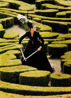 83cfad51142 US Vogue October 1994 Paris Couture  In the Grand Tradition Photographer   Steven Meisel Models  Trish Goff